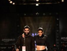Designer Abhishek Show Nought One Fashion Show At AIFW 2017 Photos