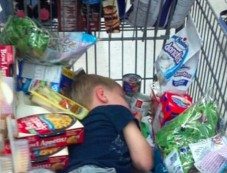 Shopping With Children Goes Wrong Photos