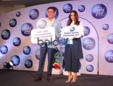 Boman Irani And Neha Dhupia For An Ambi Pur Product Photos