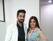 Ayushmann Khurrana And Bhumi Pednekar At Shubhmangal Saavdhan Promotions Photos
