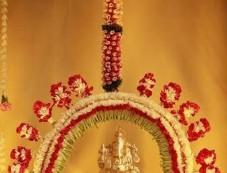 Beautiful Ganesh Chaturthi Home Decoration Photos