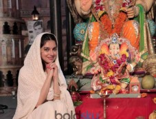 Divya Khosla Kumar Rings In The Ganpati Festival And Says Ganpati Bappa Morya! Photos