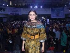 Huma Qureshi At Podar Collage Photos
