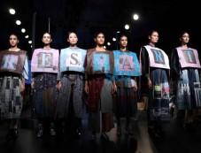 Neha Dhupia & Kabir Bedi At Lakme Fashion Week Day 2 Photos