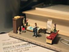 Office Frustrations Seen In Miniature Art Photos
