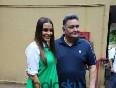 Rishi Kapoor records for NoFilterNeha season 2 Photos