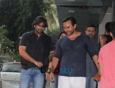 Saif Ali Khan spotted at Bandra Photos