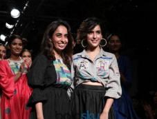 Sanya Malhotra At Lakme Fashion Week Photos