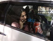 Sara Ali Khan And Sushant Singh Rajput At Abhishek Kapoor Office Photos