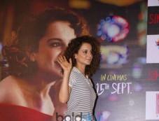 Simran Movie Trailer Launch Photos