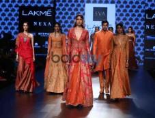 Vaani Kapoor,Nargis Fakhri And Maria At Lakme Fashion Week Photos
