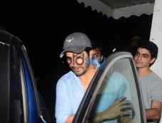 Varun Dhawan Spotted At Juhu PVR Photos