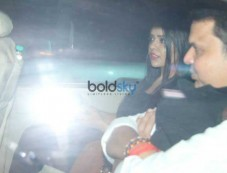 CM Fadnavis With His Wife Spotted At Aamir Khan's House Photos