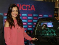 Dia Mirza At Launch Of Nissan Micra Fashion Edition, In New Delhi Photos
