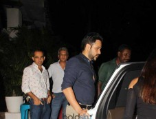 Emraan Hashmi With Wife At Olive Photos