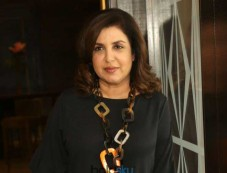 Farah Khan At Press Conference Of Lip Sing Battle In New Delhi Photos