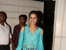 Haseena Parkar Special Screening At Sunny Super Sound Photos
