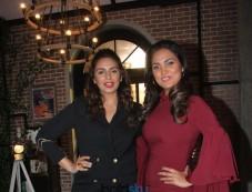 Huma Qureshi And Lara Dutta At Shoot Of Miss Diva 2017 Special Segment Photos