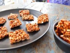 Navrathri Special: Peanut Chikki Photos