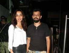 Neha Sharma With Bejoy Nambiar Spotted At Silver Beach Cafe In Mumbai Photos