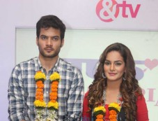 Press Meet Of Television Serial Half Marriage At Sun n Sand Mumbai Photos