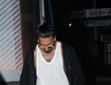 Ranveer Singh Spotted At Gym Photos