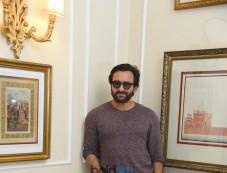 Saif Ali Khan With Padmapriya Janakiraman  At A Photoshoot For Chef, In New Delhi Photos
