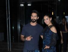 Shahid Kapoor Celebrate Mira Rajput BirthDay With Ishan In Mumbai Photos
