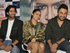 Shraddha Kapoor, Siddhanth Kapoor And Apoorva Lakhia Promoting Haseena Parkar , In New Delhi Photos