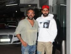 Special Screening Of Haseena Parkar At Sunny Super Sound For Abhishek Bachchan Photos