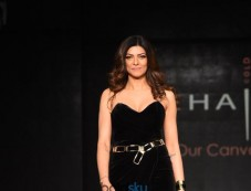 Sushmita Sen At Launch Of American Hair Color Brand MOEHAIR, In New Delhi Photos