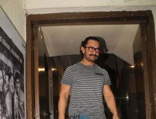 Aamir Khan And Kiran Rao Spotted At PVR Photos
