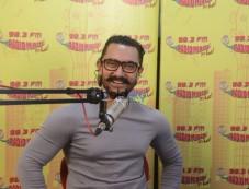 Aamir Khan At Radio Mirchi Promoting Secret Superstar Photos