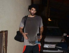 Aditya Kapoor Spotted After Gym Photos