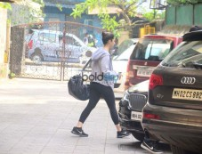Alia Bhatt Spotted At Gym Photos
