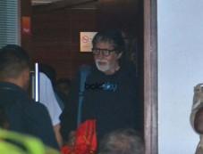 Amitabh Bachchan,Jaya Bachchan And Navya Nanda Back In The City After Vacationing In Maldives Photos