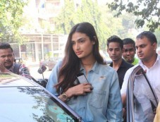 Athiya Shetty Spotted At Sequel Cafe Bandra Photos