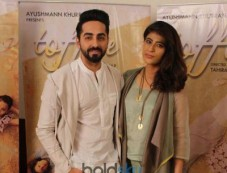 Ayushmaan Khurana With Wife At The View Interview Photos