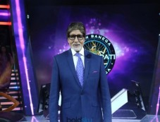 Birthday Surprise Makes Amitabh Bachchan Emotional On 'KBC 9' Set! Photos