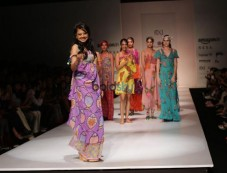Designer Anupama Dayal At Amazon India Fashion Week, In New Delhi Photos