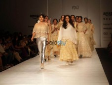 Designer Kavita Bhartia At Amazon India Fashion Week In New Delhi Photos