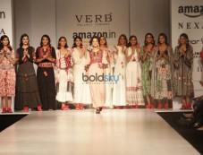 Designer Pallavi Singhee At Amazon India Fashion Week In New Delhi Photos
