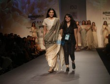 Designer Pratima  At Amazon India Fashion Week In New Delhi Photos