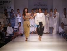 Designer Rina Dhaka At Amazon India Fashion Week In New Delhi Photos