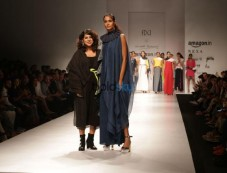 Designer Wendell Rodricks  At Amazon India Fashion Week, In New Delhi Photos