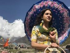 First Look Of Sara Ali Khan In Kedarnath Photos