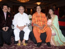 Gulzar,Bhupinder Singh, Mitali Singh,& Others At Bhumitaal Music's Dil Peer Hai Album Launch Photos