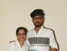 Irrfan Khan Promote His Movie Qarib Qarib Singlle Photos