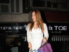 Iulia Vantur Spotted After Salon Session Photos
