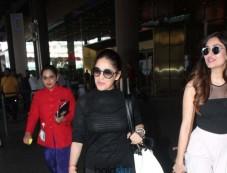 Kangana Ranaut And Yami Gautam With Her Sister Spotted At Airport Photos